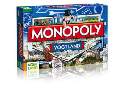Monopoly Vogtland – die Geschenkidee