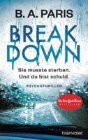 Breakdown – Sie musste sterben. Und du bist schuld